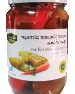 fyllda paprikor med  pickles 680g