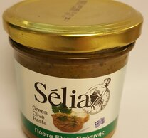 Olivpasta av gröna oliver 135g