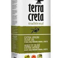 terra creta, Traditional PDO Kolymvari Extra Virgin Olive Oil 5L